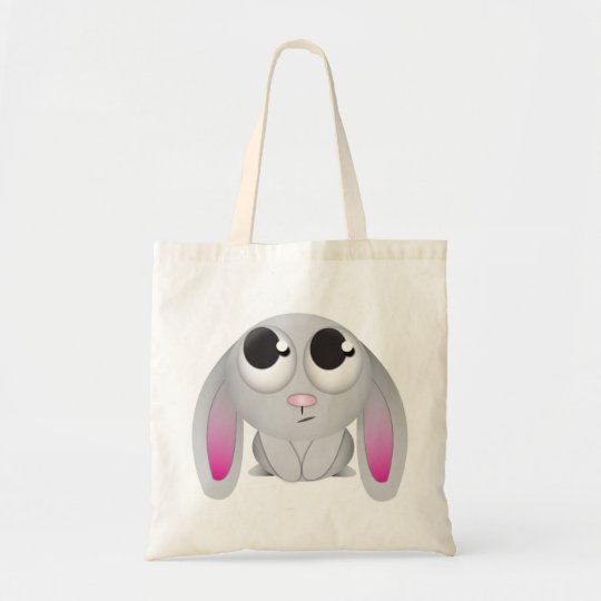 Cute Cartoon Rabbit Tote Bag