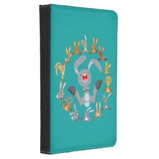 Cute Cartoon Rabbits Mandala Kindle Case Kindle Touch Case