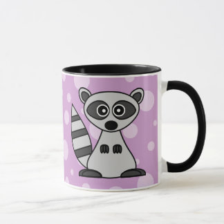 Cute Cartoon Raccoon Mug