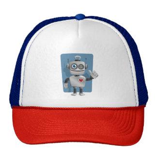 Cute Cartoon Robot Cap