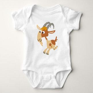 Cute Cartoon Running Goat Baby Apparel Baby Bodysuit