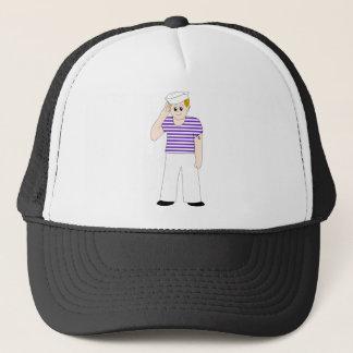 Cute Cartoon Sailor Trucker Hat