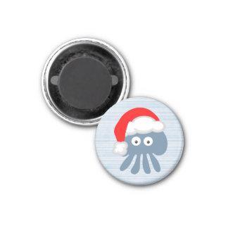 Cute Cartoon Santa Jellyfish Magnets
