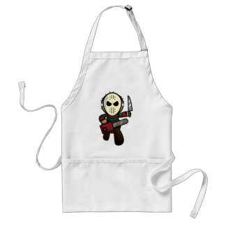 Cute Cartoon Serial Killer Standard Apron
