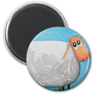 Cute cartoon sheep Gordon Bruce art 6 Cm Round Magnet