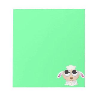 Cute Cartoon Sheep Notepad