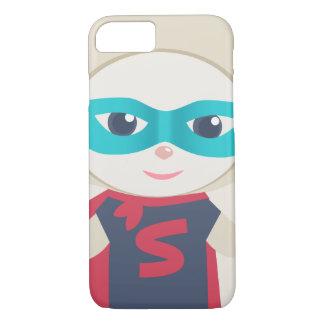 Cute cartoon sheep Super Hero iPhone 7 Case