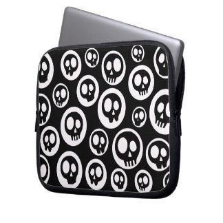 Cute Cartoon Skulls Laptop Ipad Sleeve Bag Computer Sleeves