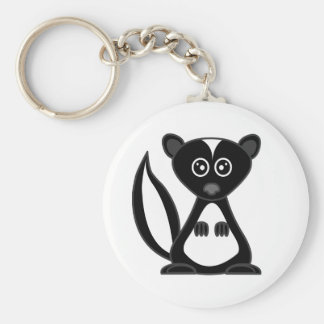 Cute Cartoon Skunk Keychain
