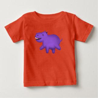 Cute cartoon smiling hippo baby T-Shirt