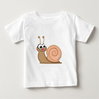 Cute Cartoon Snail Baby T-Shirt