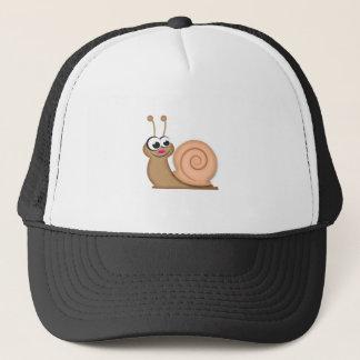 Cute Cartoon Snail Trucker Hat
