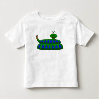 Cute Cartoon Snake Boy's Shirt Toddler