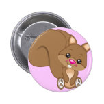 Cute Cartoon Squirrel