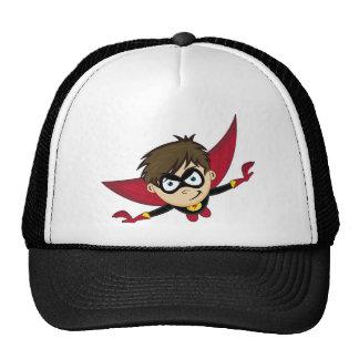 Cute Cartoon Superhero Mesh Hats