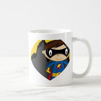 Cute Cartoon Superhero Mugs
