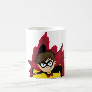 Cute Cartoon Superhero Mug