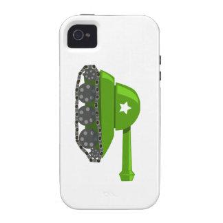 Cute Cartoon Tank Case-Mate iPhone 4 Case
