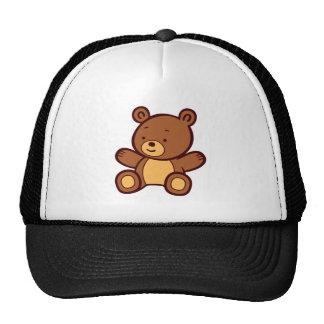 Cute Cartoon Teddy Bear Hat