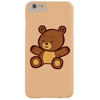 Cute Cartoon Teddy Bear iPhone 6 Plus Case