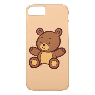 Cute Cartoon Teddy Bear iPhone 7 Case