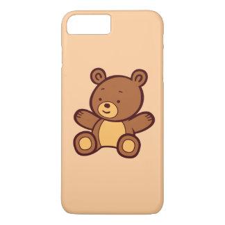 Cute Cartoon Teddy Bear iPhone 7 Plus Case