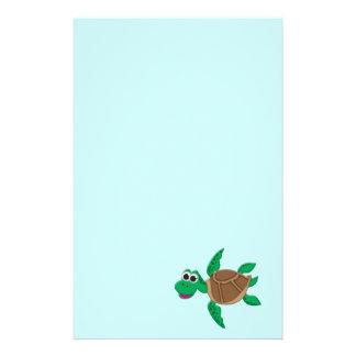 Cute Cartoon Turtle Stationery