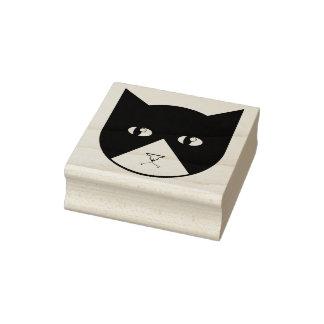 Cute Cartoon Vampire Cat Rubber Stamp