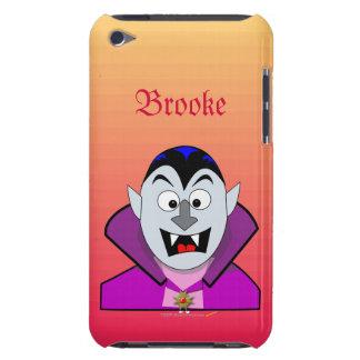 Cute Cartoon Vampire Halloween Custom ipod iPod Touch Cover