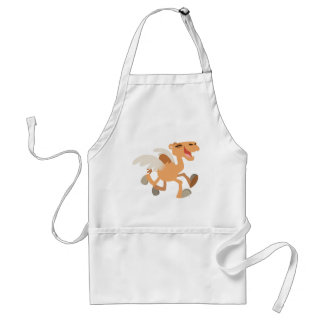 Cute Cartoon Winged-Camel Cooking Apron