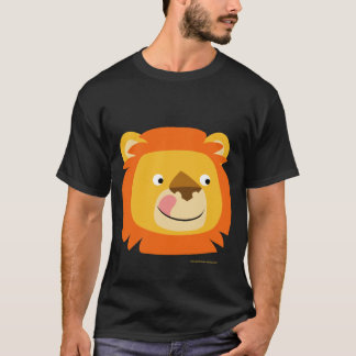 Cute Cartoon Yummy lion T-Shirt