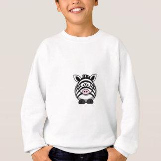 Cute Cartoon Zebra Clipart T-shirts
