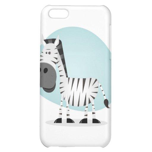Cute Cartoon Zebra Cover For iPhone 5C