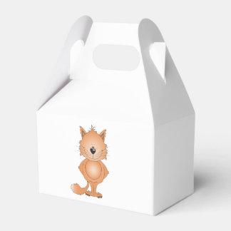 Cute Cat Cartoon Favour Box