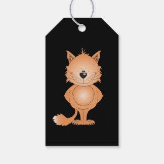 Cute Cat Cartoon Gift Tags