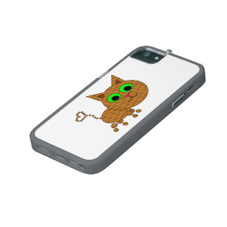 Cute Cat Cover For iPhone 5