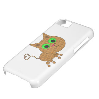 Cute Cat Cover For iPhone 5C