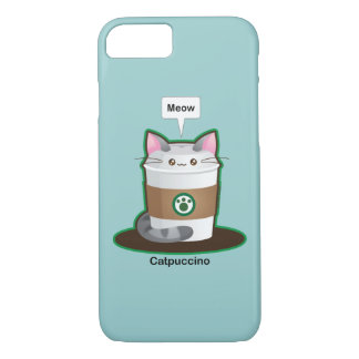 Cute Cat Coffee iPhone 8/7 Case