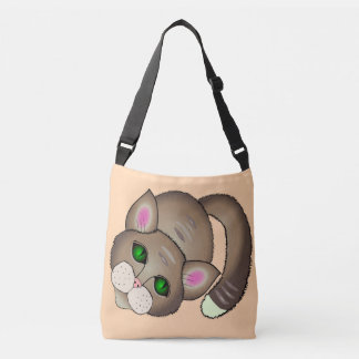 cute cat crossbody bag
