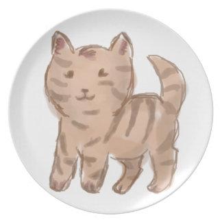 Cute Cat Drawing Plates