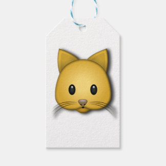 Cute Cat Emoj Style Design Gift Tags