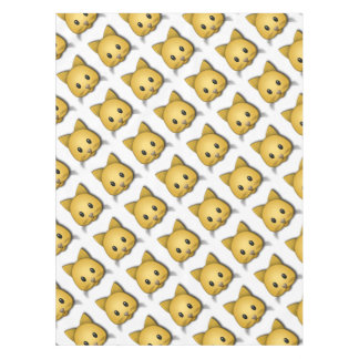 Cute Cat Emoj Style Design Tablecloth
