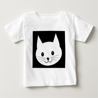 Cute Cat Face. Baby T-Shirt