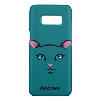 cute cat face Case-Mate samsung galaxy s8 case