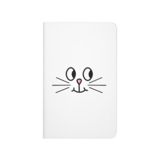 Cute Cat Face. Journal
