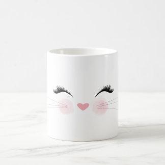 Cute Cat Face Mug