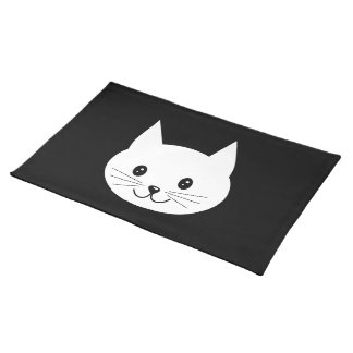 Cute Cat Face. Placemat