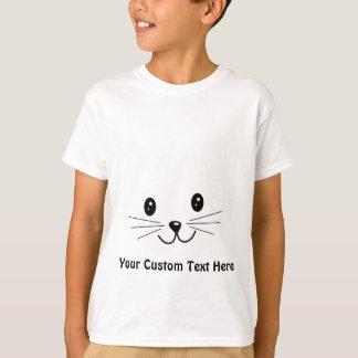 Cute Cat Face. Shirts