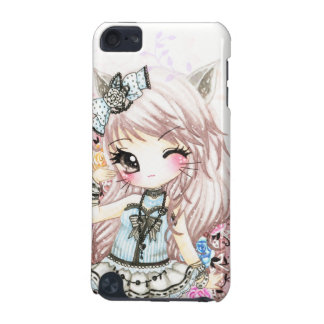 Cute cat girl in lolita style iPod touch 5G case