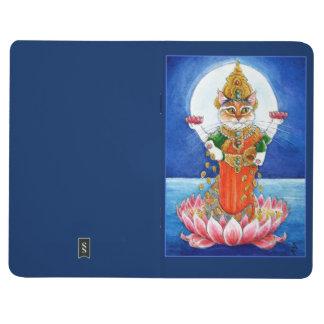 Cute cat Hindu goddess Lakshmi Journals